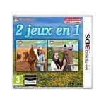 2 jeux en 1 : Mon Cheval Western 3D + Mon Haras 3D (Nintendo 3DS/2DS)