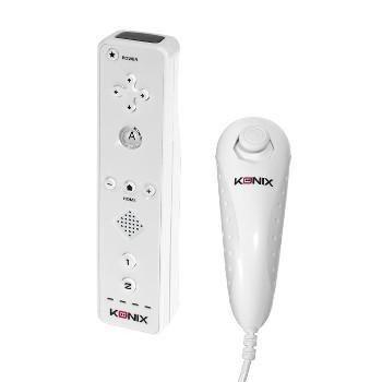 Konix Duo Controller Pack Wii U Blanc