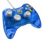 PDP Manette filaire Rock Candy pour Xbox 360 - Bleue