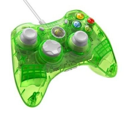 PDP Manette filaire Rock Candy pour Xbox 360 - Vert