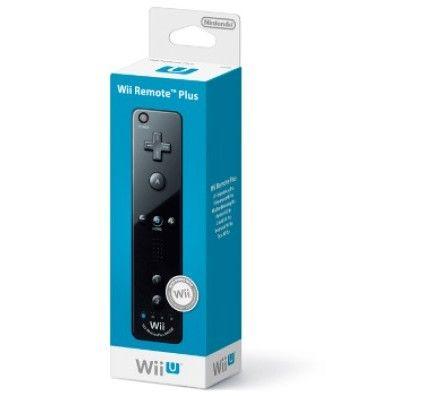 Nintendo Wiimote Plus noire - Wii U / Wii