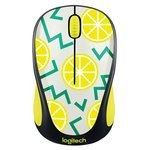 Logitech M238 Wireless Mouse (Citron)