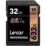 Lexar Professional SDHC 32 Go 633x (95Mo/s) - LSD32GCB1EU633