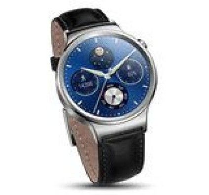Huawei Watch Classic Argent/Cuir