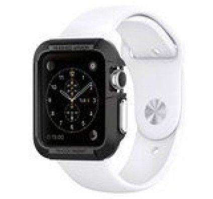Spigen Apple Watch Case Rugged Armor Noir (42 mm)