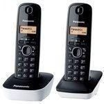 Panasonic KX-TG1612FR Duo Blanc