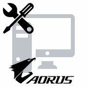 Réparation de coque ordinateur PC Aorus