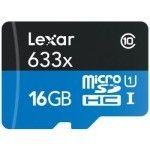 Lexar MicroSDXC 16 Go 633x (45Mo/s) + Adaptateur
