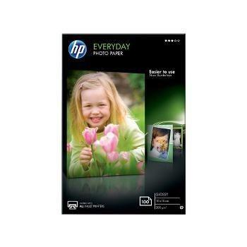 HP Papier photo brillant HP Everyday 10x15 cm