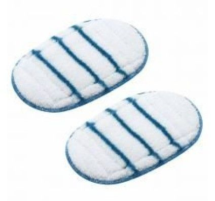 Black & Decker Lot de 2 Patins en Microfibre pour SteaMitt - FSHSMPA