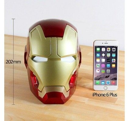 Speakers Iron Man Bluetooth