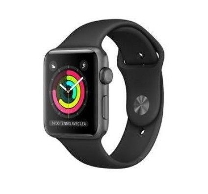 Apple Watch 2 aluminium 38 mm gris sidéral