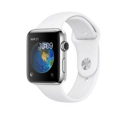 Apple Watch 2 acier inoxydable 42 mm - MNPR2ZD/A