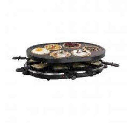 Domoclip Appareil à Raclette et Mini-Crêpes - DOC188