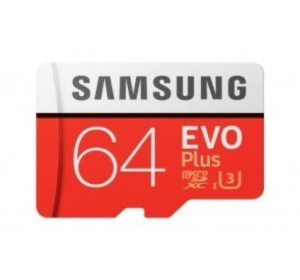SAMSUNG - CARTE MÉMOIRE MICRO SD EVO PLUS - 64GO - MB-MC64GA/EU
