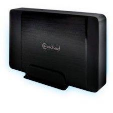 Boîtier externe USB v3.0 pour disque dur 3.5'' SATA GD-35608 Noir Connectland