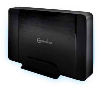 bo tier externe usb v3 0 pour disque dur 3 5 39 39 sata gd 35608 noir connectland racks bo tiers. Black Bedroom Furniture Sets. Home Design Ideas
