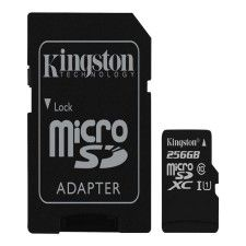 KINGSTON carte mémoire flash - 256 Go - microSDXC UHS-I