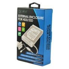 Boîtier externe 2 en 1 pour disque 2.5'' SATA USB v3.1 Gen2 G2-28-WH Blanc Connectland