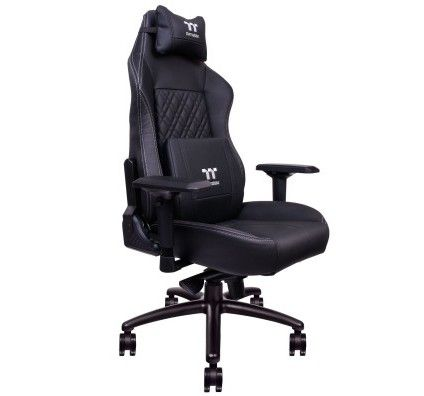 Tt eSportS by Thermaltake X Comfort Real Leather (noir)