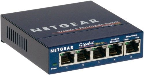 Netgear GS105 switch 5 ports