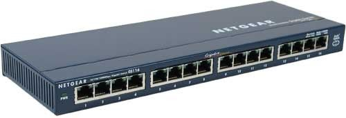 Netgear GS116 switch 16 ports
