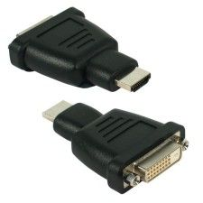 Adaptateur DVI-D Femelle vers HDMi Male