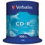 Verbatim CD-R 700Mo 52x (Spindle x100)