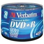 Verbatim DVD+R 4.7 Go - 16x (Spindle x50)