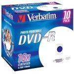 Verbatim DVD-R 4.7 Go - 16x (Boite CD x10) Imprimable