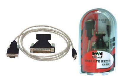 Cable adaptateur USB --> 2 ports série