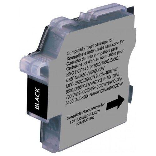 Cartouche compatible LC-980 et LC-1100 (Noir)