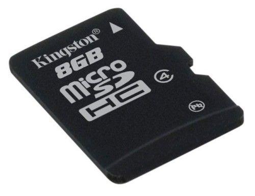 Kingston microSD 8 Go High Capacity