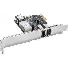 Carte contrôleur PCI-Express avec 3 ports FireWire 400 (dont 1 interne)