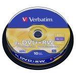 Verbatim DVD+RW 4.7 Go - 2.4x (Boite CD x1)