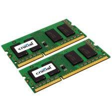 Crucial So-Dimm DDR3-1600 1.35V 8Go (2x4Go)