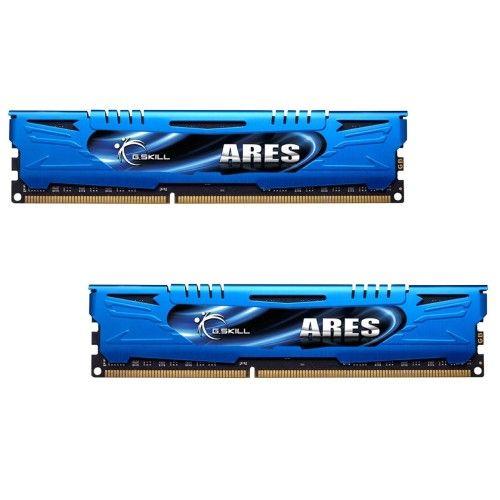 G.Skill Ares Blue Series DDR3-1600 CL9 8Go (2x4Go) - F3-1600C9D-8GAB