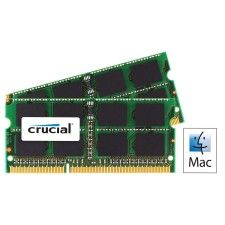 Crucial So-Dimm Mac DDR3-1600 16Go (2x8Go)