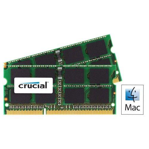 Crucial So-Dimm Mac DDR3-1066 8Go (2x4Go)