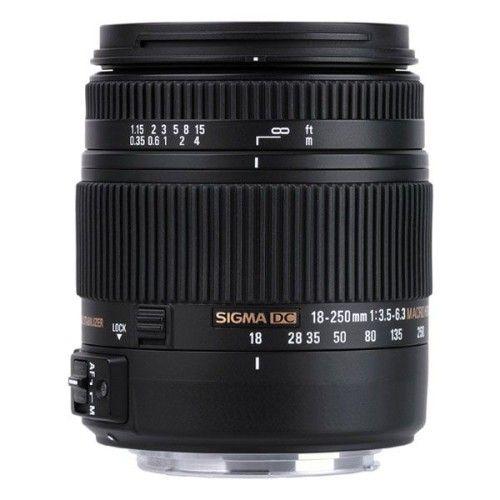 Sigma 18-250mm F3.5-6.3 DC MACRO OS HSM > Canon