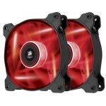 Corsair Air Series AF120 Quiet Edition High Airflow (Rouge) - Twin Pack
