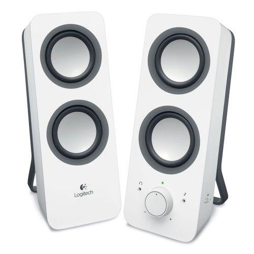 Logitech Speaker System Z200 (Blanc)