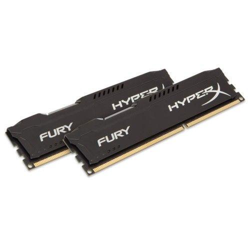 Kingston HyperX Fury Black DDR3-1866 CL10 16Go (2x8Go)