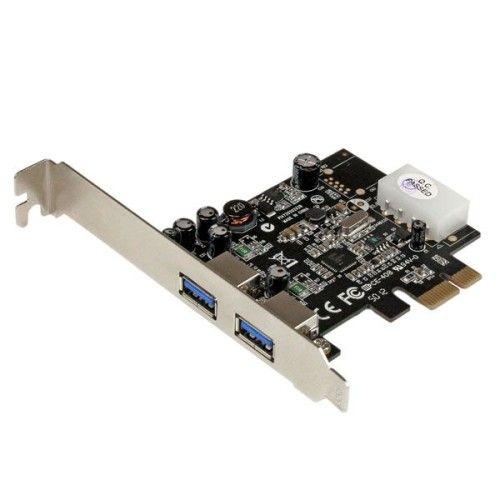 StarTech.com carte contrôleur PCI-Express 1x avec 2 ports USB 3.0 avec UASP