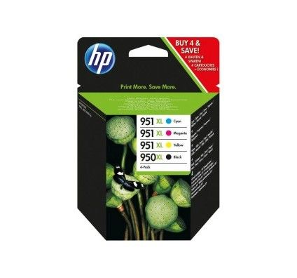 HP Combo Pack 950XL/951 XL - C2P43AE