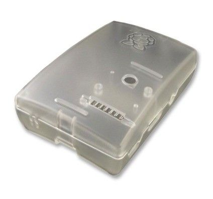 Multicomp boitier pour Raspberry Pi 2 Model B / Pi Model B+ (transparent)