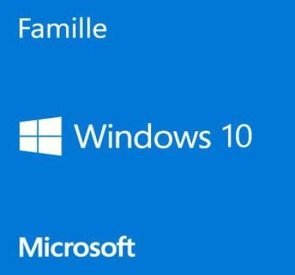 <b>Microsoft</b> <b>Windows</b> <b>10</b> <b>Famille</b> <b>64</b> <b>bits</b> - <b>OEM</b> (<b>DVD</b> inclus) (KW9 ...