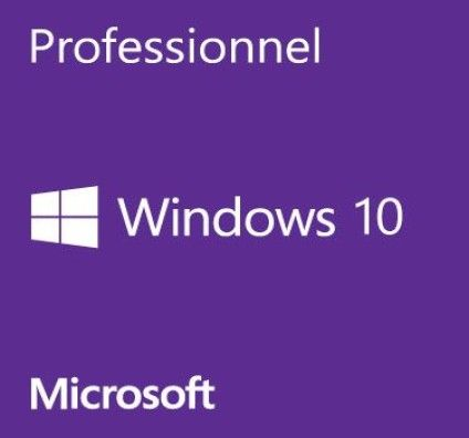 Microsoft Windows 10 Professionnel 32 bits - OEM (DVD)
