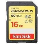 SanDisk Extreme Plus UHS-I SDHC 16 Go