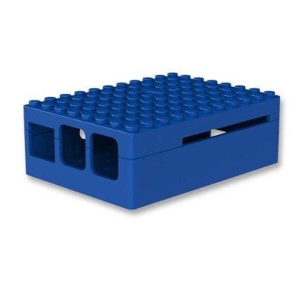 Multicomp Pi-Blox boitier pour Raspberry Pi 2 / Pi Model B+ (bleu)